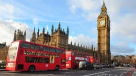 Londres-big ben-bus